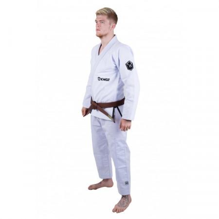 KiNGZ Kimono/Gi BJJ Balistico 2.0 Белое
