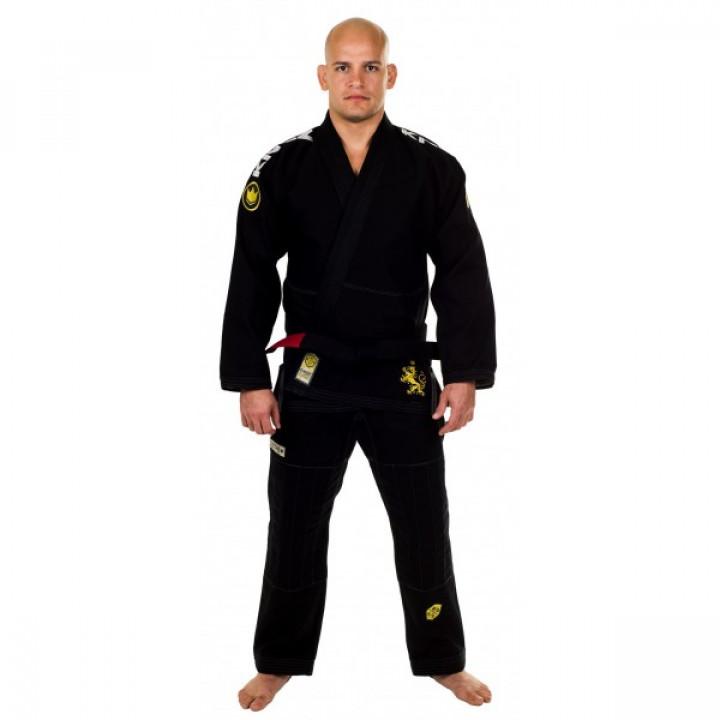 KiNGZ Kimono/Gi BJJ Comp 450 V4 Черное