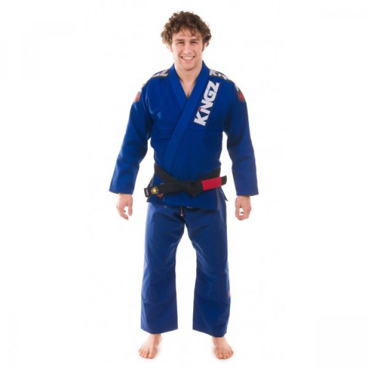 KiNGZ Kimono/Gi BJJ Ultralight Синие