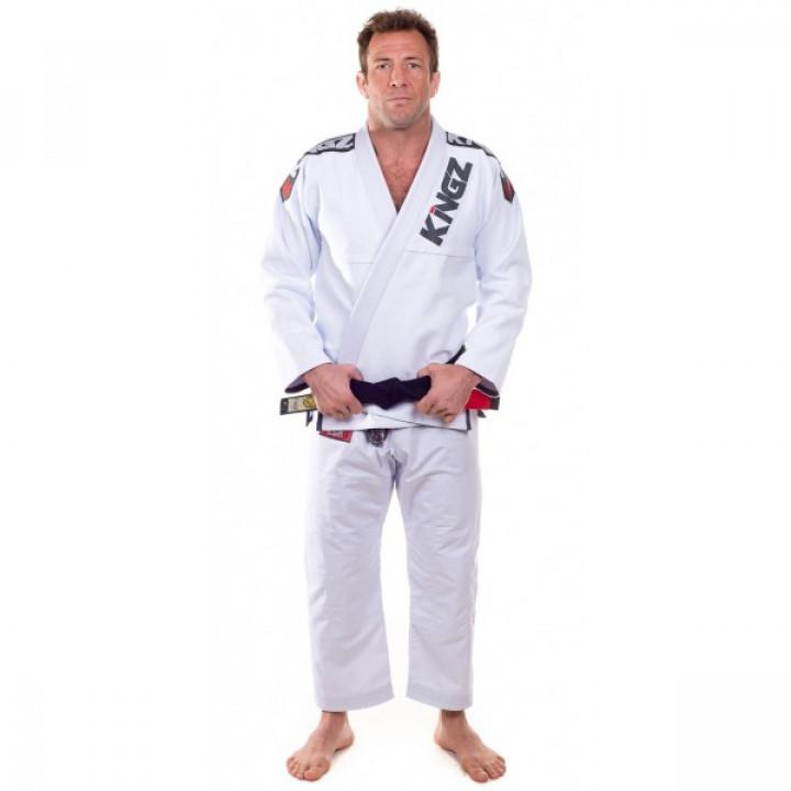 KiNGZ Kimono/Gi BJJ Ultralight Белое