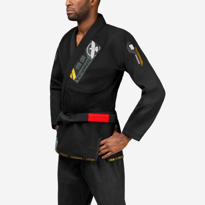 Hayabusa Kimono/Gi Ascend Lightweight Jiu Jitsu Gi Черное