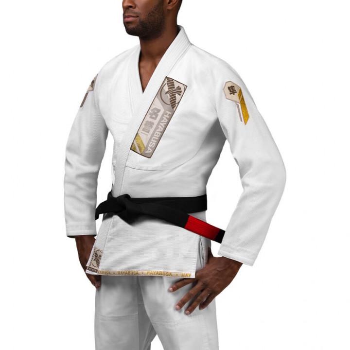 Hayabusa Kimono/Gi Ascend Lightweight Jiu Jitsu Gi Белое
