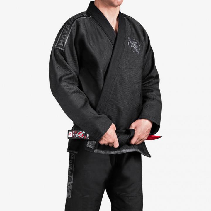 Hayabusa Kimono/Gi Lightweight Jiu Jitsu Gi Черное