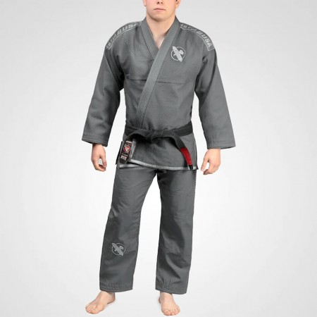 Кимоно (Ги) для джиу-джитсу Hayabusa Lightweight Jiu Jitsu Gi серое