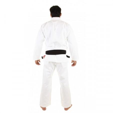 KiNGZ Kimono/Gi BJJ Basic 2.0 Белое + Белый пояс