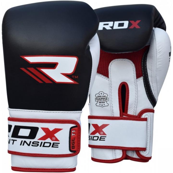 RDX Перчатки боксерские BGL-T1 Gel Pro Черные