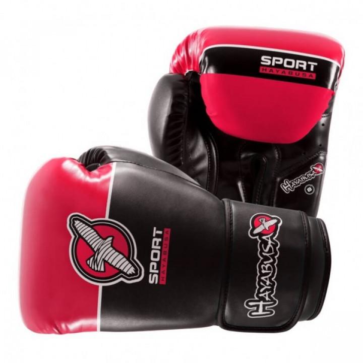 Hayabusa Перчатки боксерские Sport Training 8oz Черно/Красные