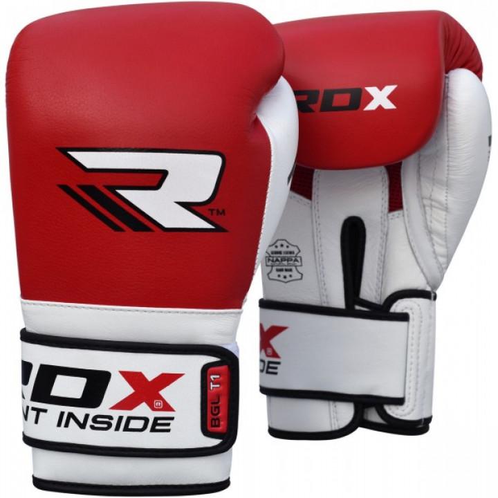RDX Перчатки боксерские BGL-T1 Gel Pro Красные