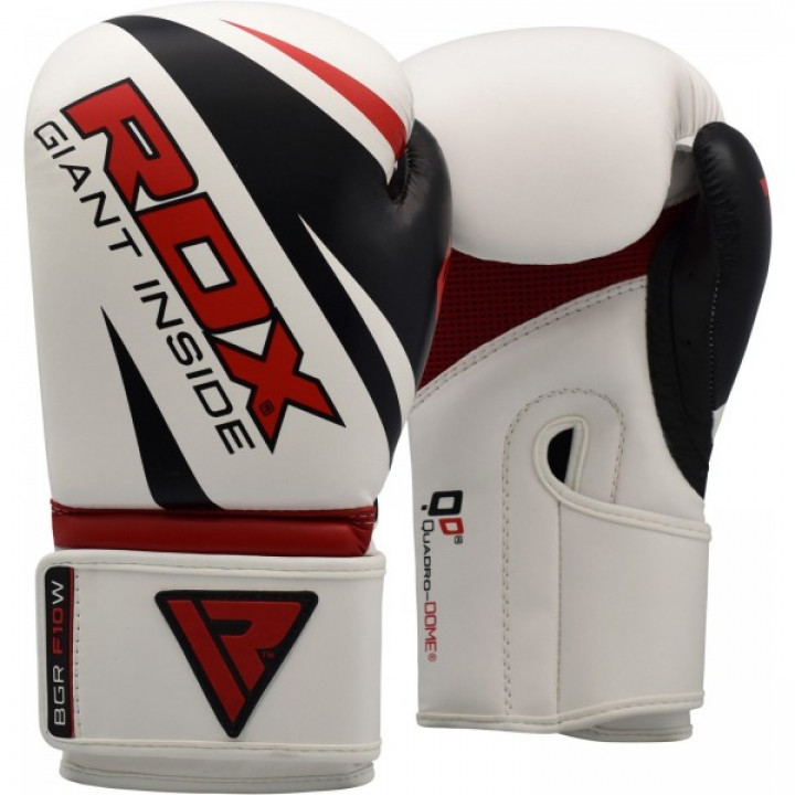 RDX Перчатки боксерские REX F10 Белые