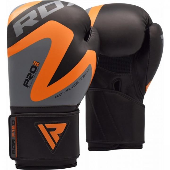 RDX Перчатки боксерские REX F12 Оранжевые