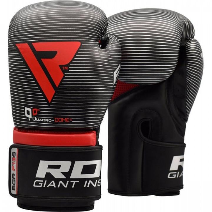 RDX Перчатки боксерские REX F13 Серебрянные