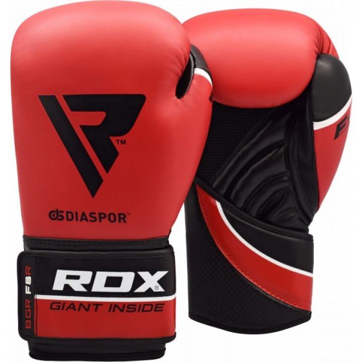 RDX Перчатки боксерские REX F8 Красные