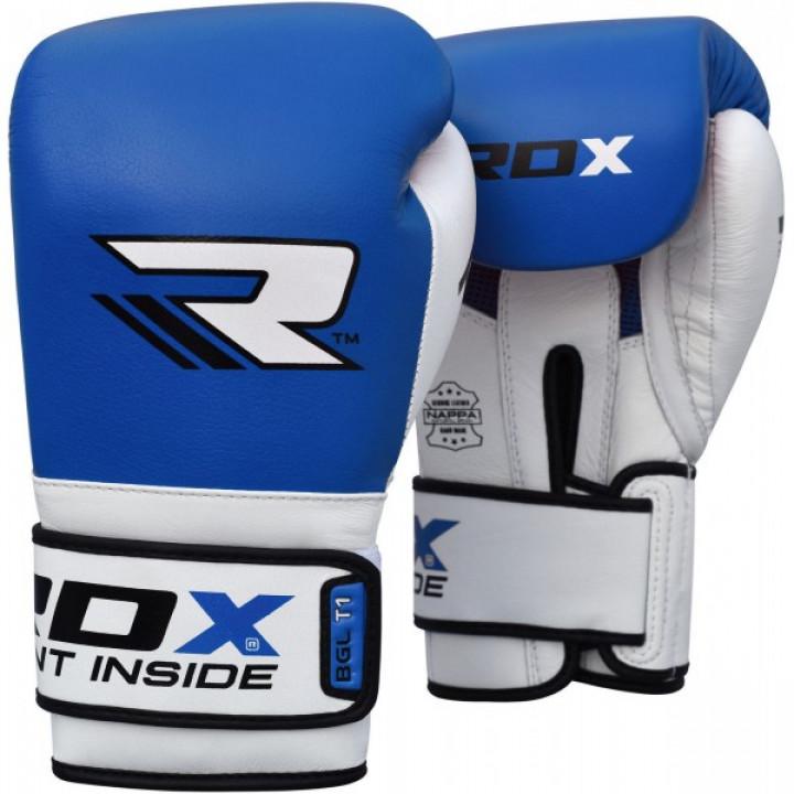 RDX Перчатки боксерские BGL-T1 Gel Pro Синие