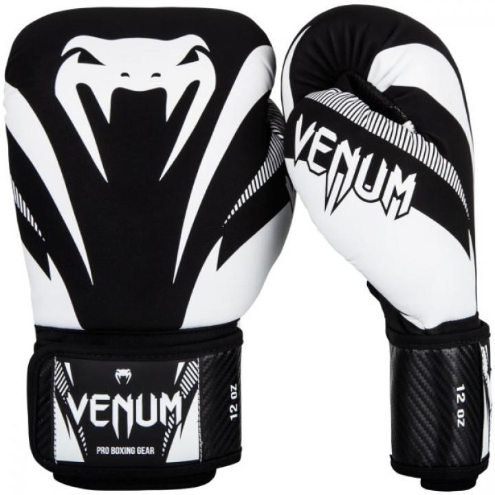 Venum Перчатки боксерские Impact Черные
