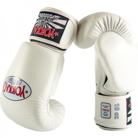 Yokkao Перчатки боксерские Matrix Белые