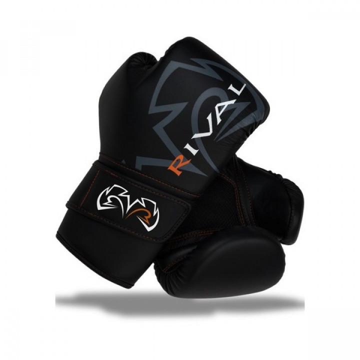 Перчатки боксерские RivalRB60C черные