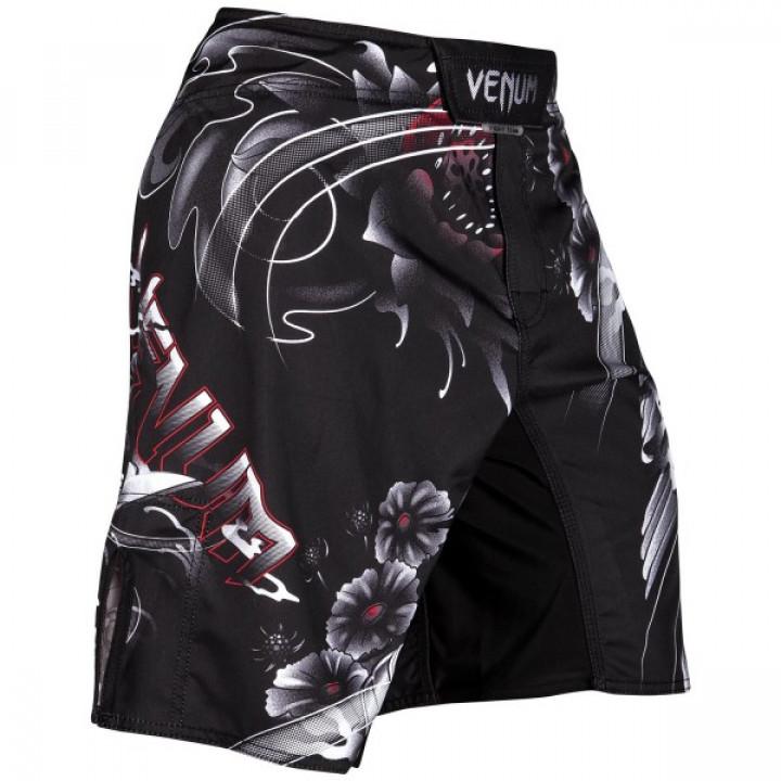 Venum Шорты  MMA Samurai Skull Черные