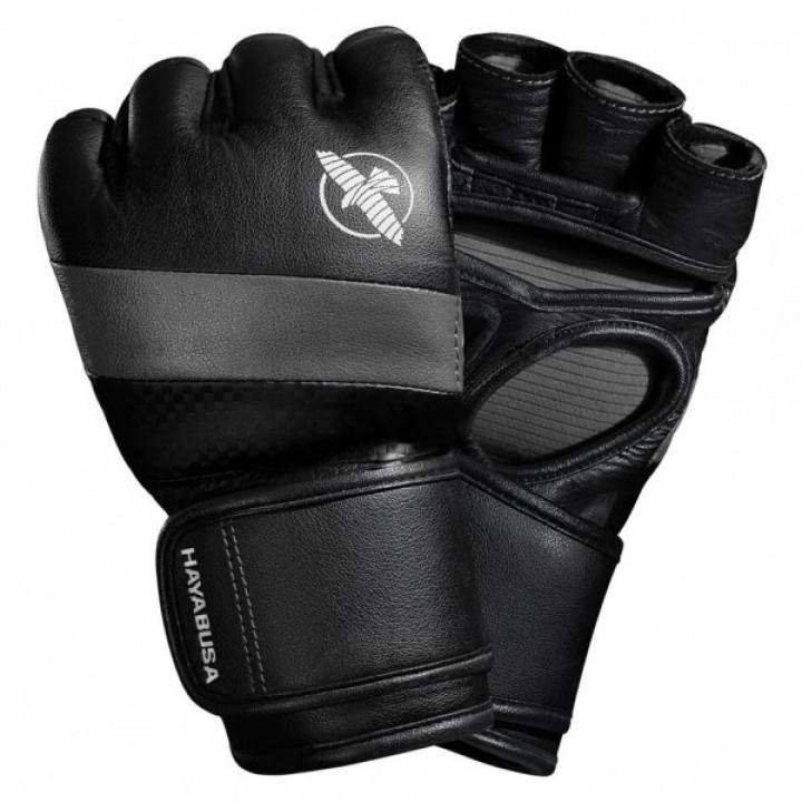 Перчатки для MMA Hayabusa T3 4oz черно-серые