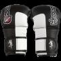 Спаринговые перчатки для MMA Hayabusa  Tokushu Hybrid 7oz черные