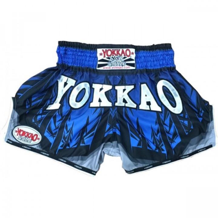 Yokkao Шорты Muay-Thai Ironwoods Синие