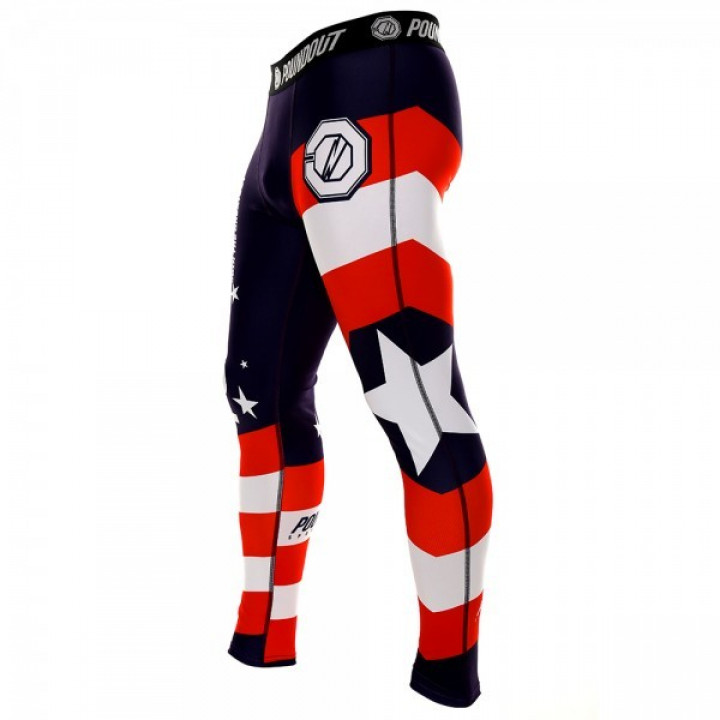 Poundout компрессионные штаны  Америка