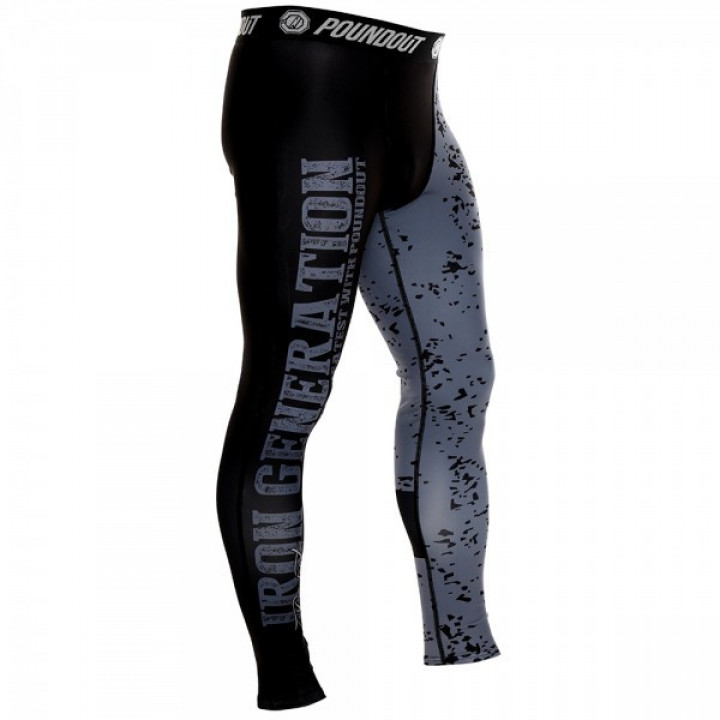 Poundout компрессионные штаны Iron Generation 2.0