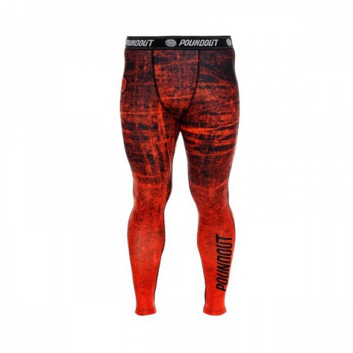 Poundout компрессионные штаны Красные
