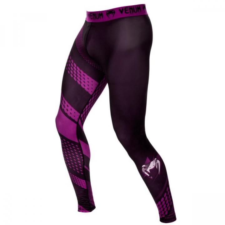 Venum компрессионные штаны Rapid Черно-фиолетовые