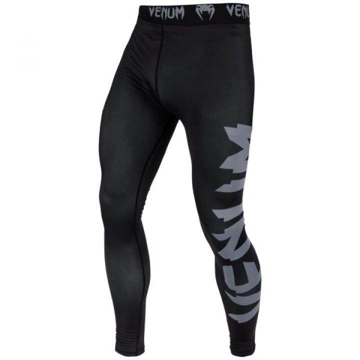 Venum  компрессионные штаны  Giant Черно-серые