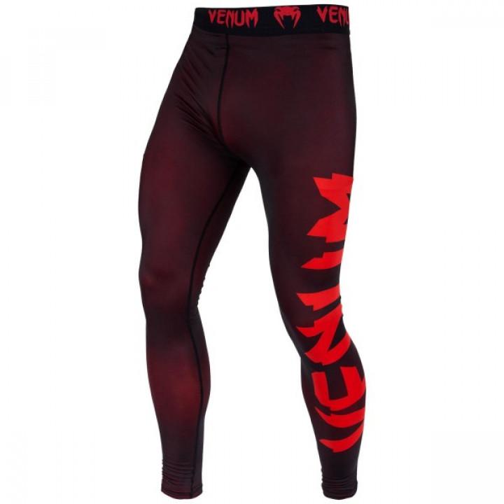Venum компрессионные штаны Giant Черно-красные