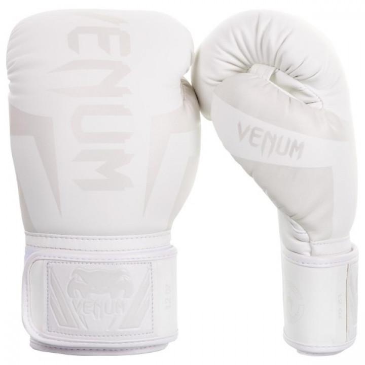 Venum Перчатки боксерские Elite Белые / Белые