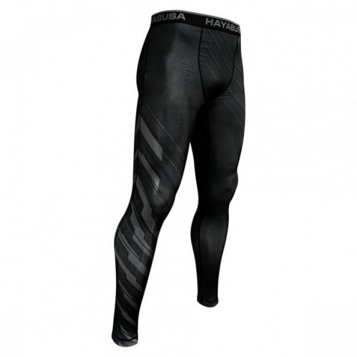 Hayabusa компрессионные штаны  Metaru Charged Compression черные
