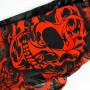 Pit Bull компрессионные штаны Tribal Skull черно-красные