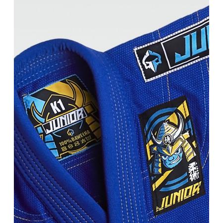 Ground Game Кимоно/ Ги для Bjj Junior 3.0 Синие