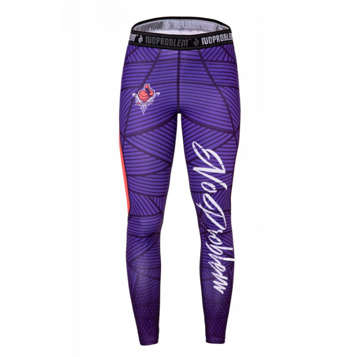 LEGGINSY NOPROBLEM PURPLE