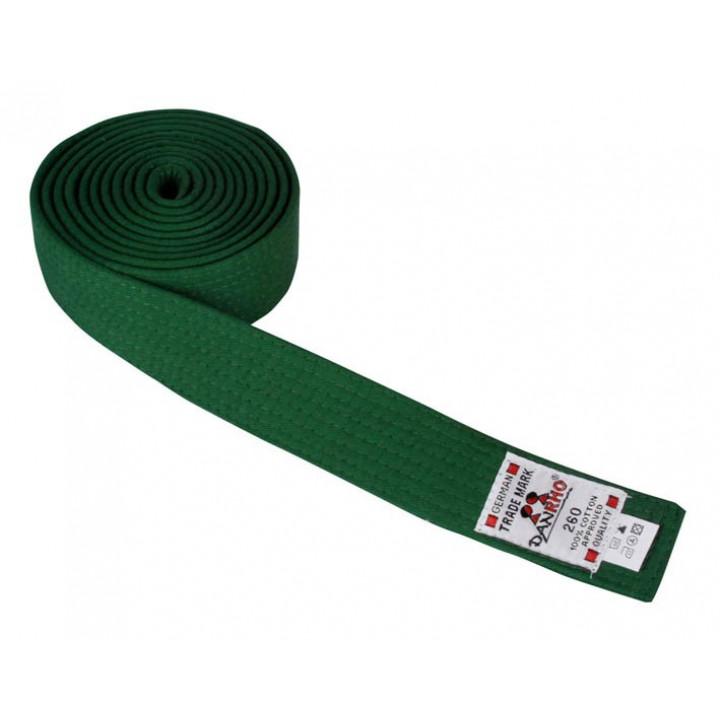 Пояс judo Danhro 4cm Зеленый
