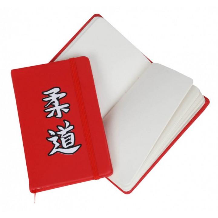 Блокнот A6 красный Judo.