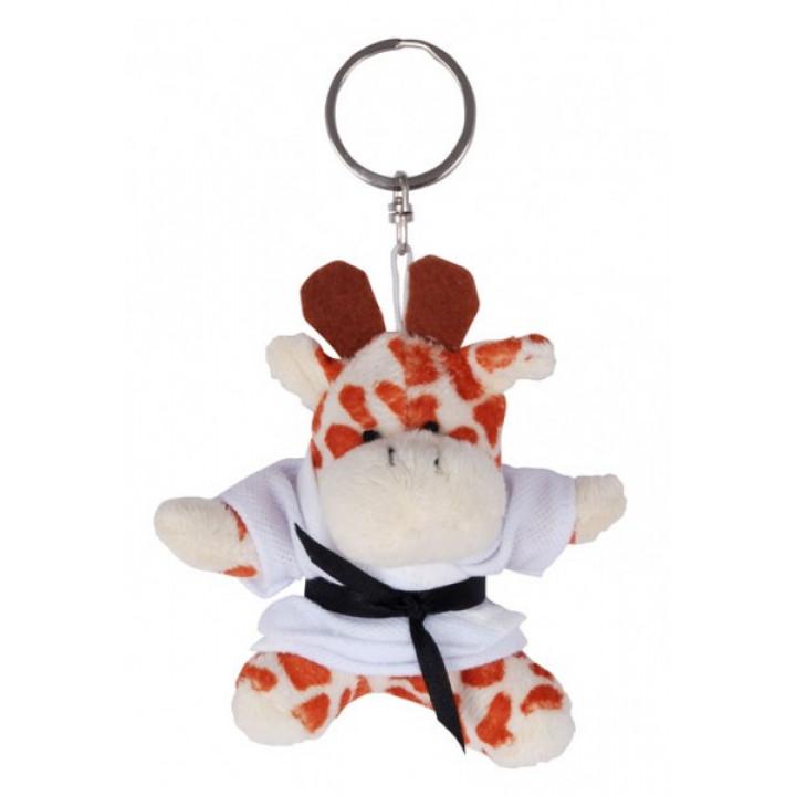 Брелок плюшевый жираф в кимоно