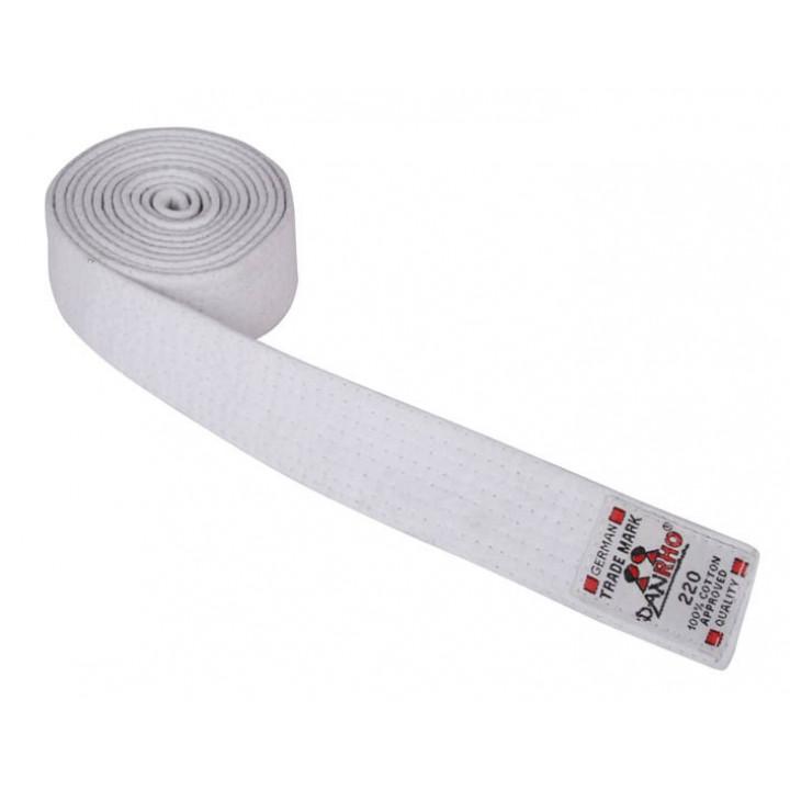 Пояс judo Danhro 4cm Белый