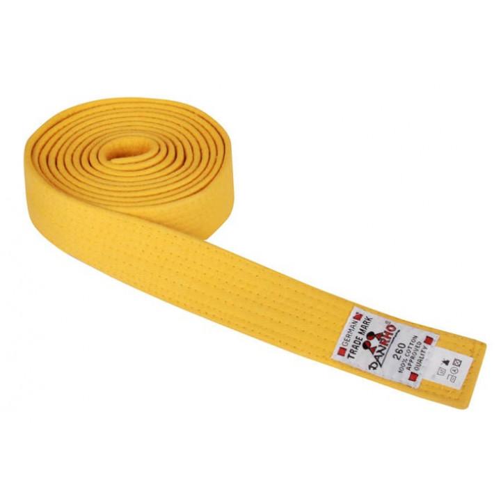 Пояс judo Danhro 4cm Желтый