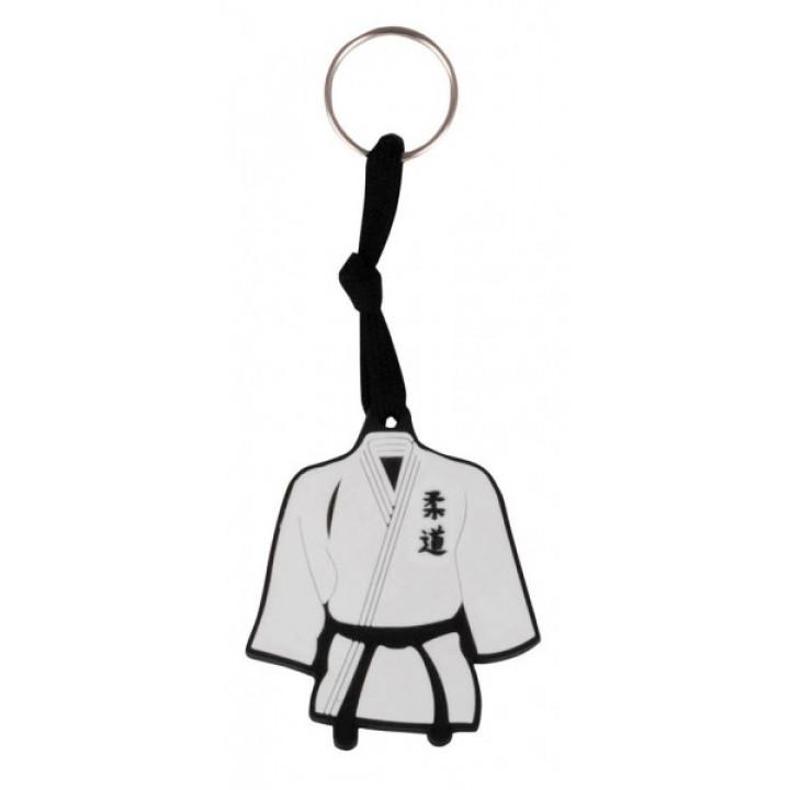 Резиновй брелок кимоно Белый