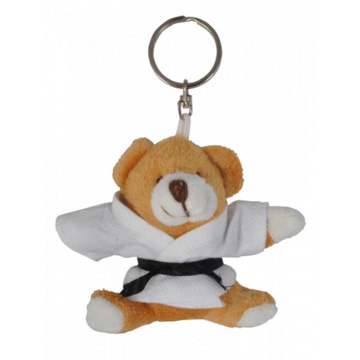 Брелок плюшевый Медведь в кимоно Медовый