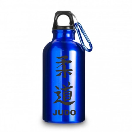 Металлическая бутлка Judo для холодных напитков - Синяя