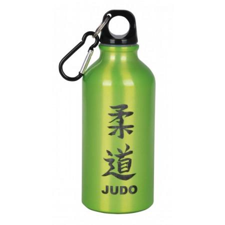 Металлическая бутлка Judo для холодных напитков  - Зелёная