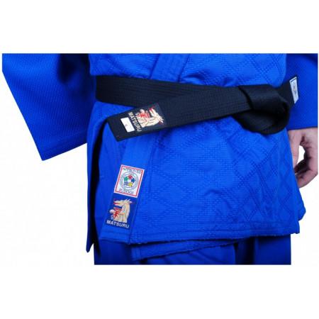 Кимоно для Дзюдо (дзюдоги) Matsuru CHAMPION с сертификатомIJF 750g синее