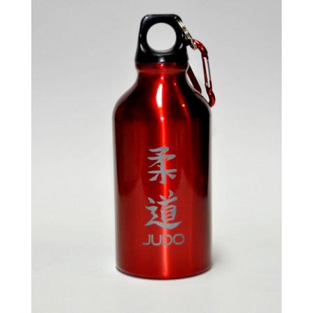 Металлическая бутлка Judo для холодных напитков - Красная