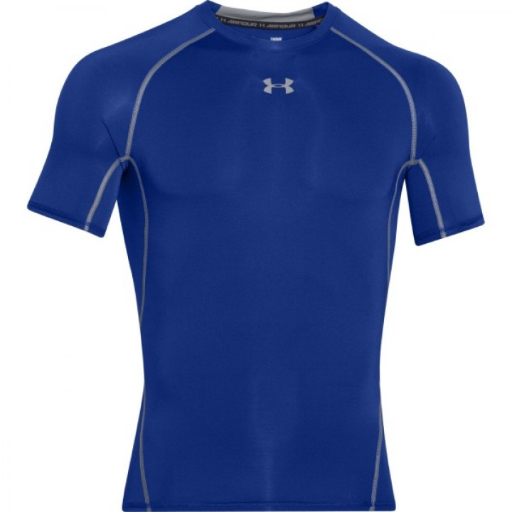 Under Armour HeatGear Armour Shortsleeve Темно Синий