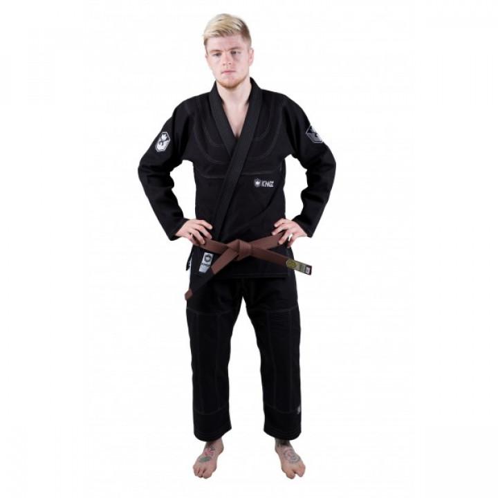 KiNGZ Kimono/Gi BJJ Balistico 2.0 Черное