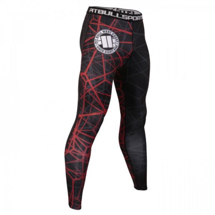 Pit Bull Компрессионные штаны Ray Красный