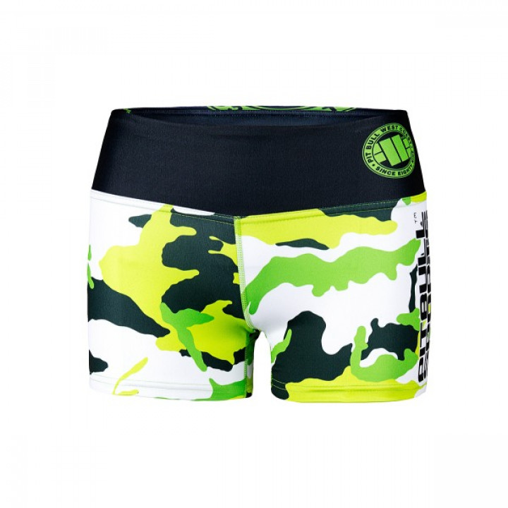 Pit Bull Шорты Женские Camo 1 Зелёные